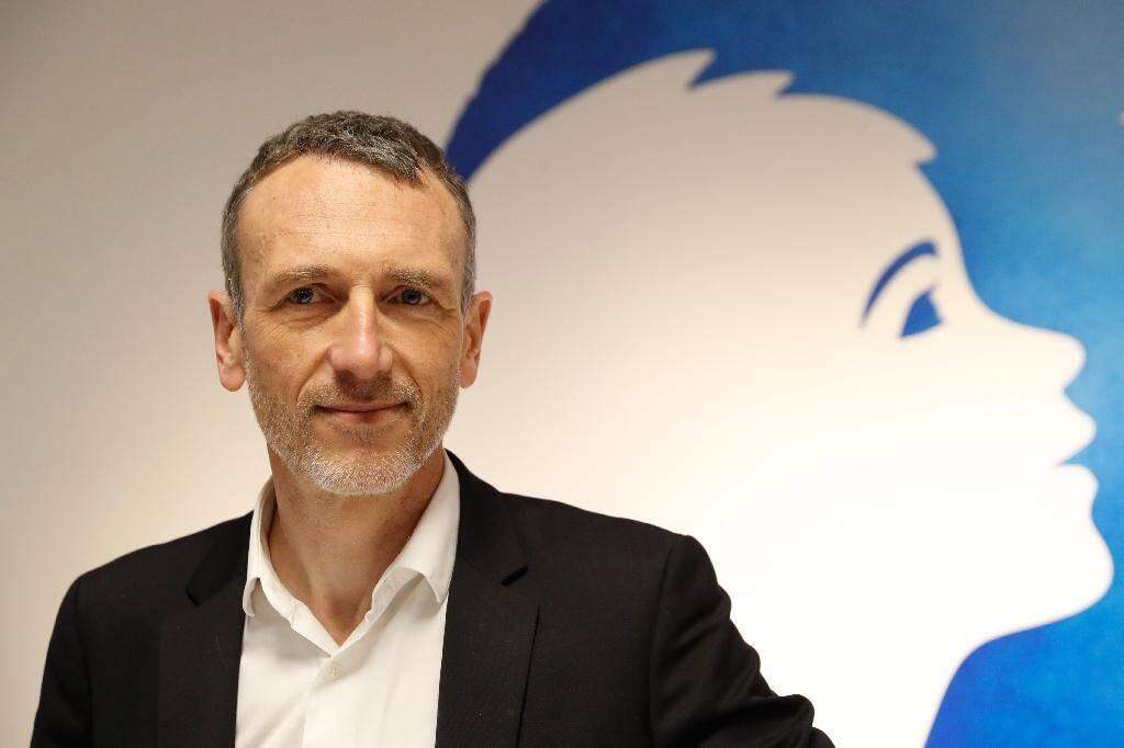 Le PDG de Danone Emmanuel Faber en février 2018 à Paris