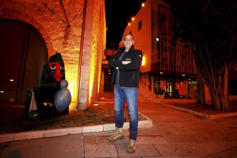 Christian Ellena se réoriente vers l'éclairage architectural, ici à Biot