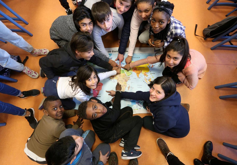 À l'école, l'apprentissage de la laïcité, c'est celui du vivre ensemble.