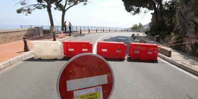 Les opérations de sécurisation ont commencé autour du bloc rocheux de 40 tonnes qui menace de tomber à Monaco
