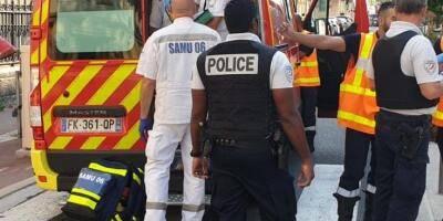 PHOTOS. Explosion dans un immeuble du centre-ville de Nice, au moins deux blessés