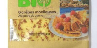 Attention, la bactérie Listeria détectée dans des lots de crêpes vendus en grande surface