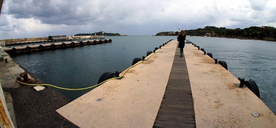 Première étape : les quais ont été refaits en 2013.