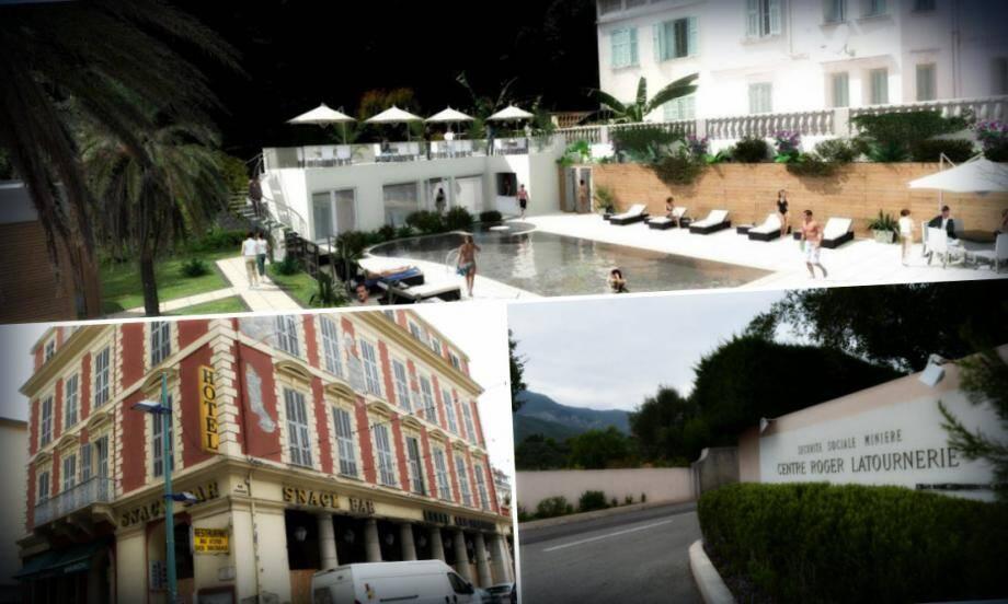 """Ces hôtels devraient faire peau neuve dans les années à venir pour faire de Menton un """"hotspot touristique"""""""