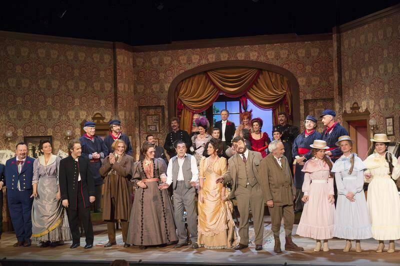 Théâtre avec Olivier Minne, Virginie Guilhaume, Michel Drucker, les Bogdanov, Évelyne Leclercq ou encore Thierry Beccaro et Patrice Laffont…(DR)