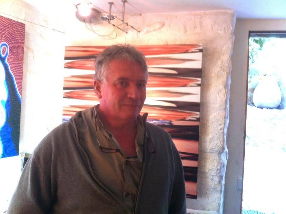 Dimitri Parant de la galerie éponyme.