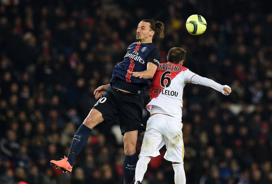 Zlatan et le PSG bousculés par Carvalho et l'ASM.
