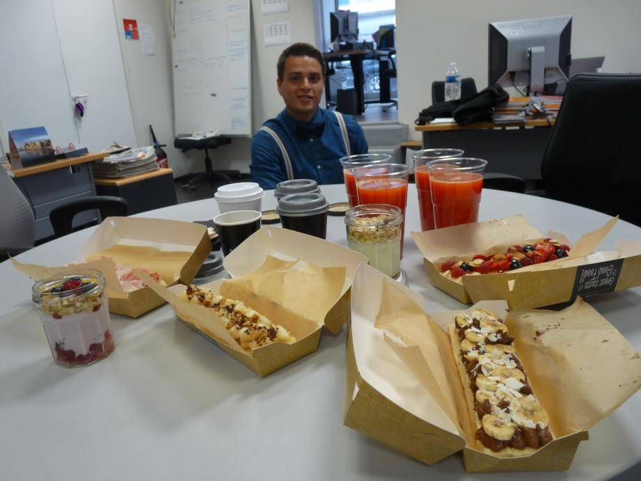 Le petit-déjeuner de Tartine et confiture : du copieux, service compris !        ( Photos A.C.)