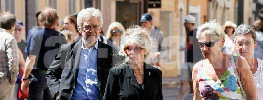 Brigitte Bardot a assisté aux obsèques d'Anne Dussart, lundi 25 juin.