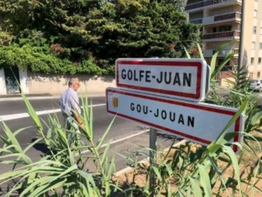 De nouveaux panneaux Gou-Jouan, avec l'écusson Provençal tonnent désormais à l'entrée de la ville depuis fin septembre 2018