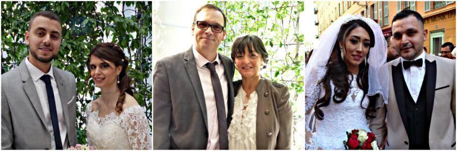 Trois couples se sont unis en mairie de Nice, ce week-end
