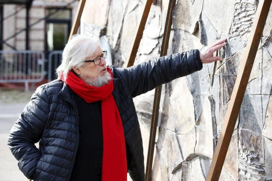 L' oeuvre de Michel Carlin est désormais exposée au musée Terra Rossa de Salernes.