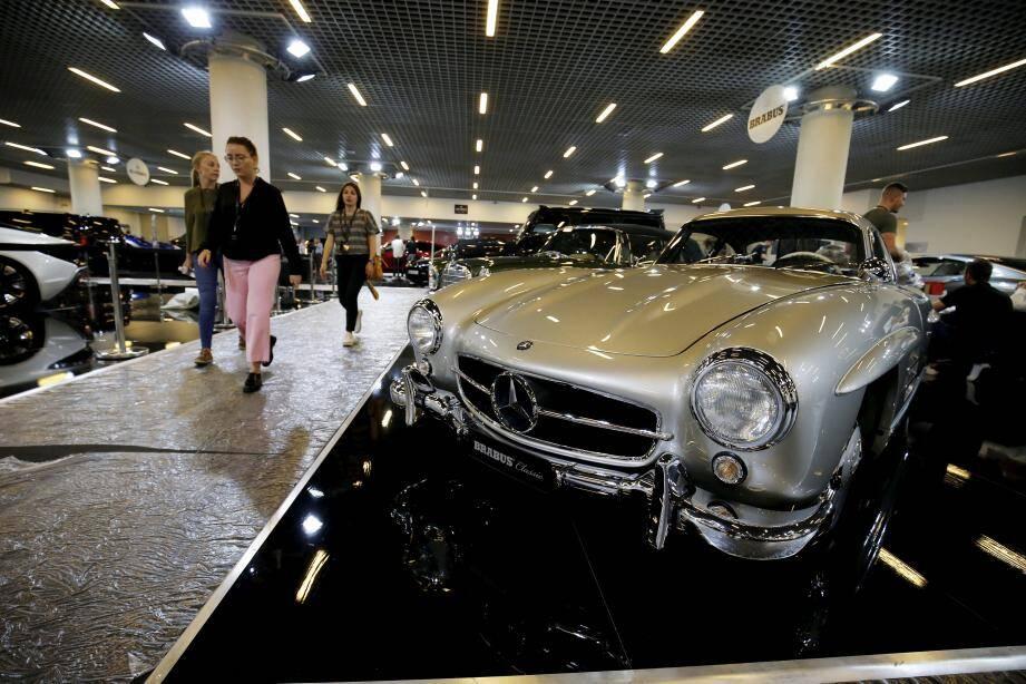 Au total, le salon abritera plus de 70 voitures de trente constructeurs au Grimaldi Forum.