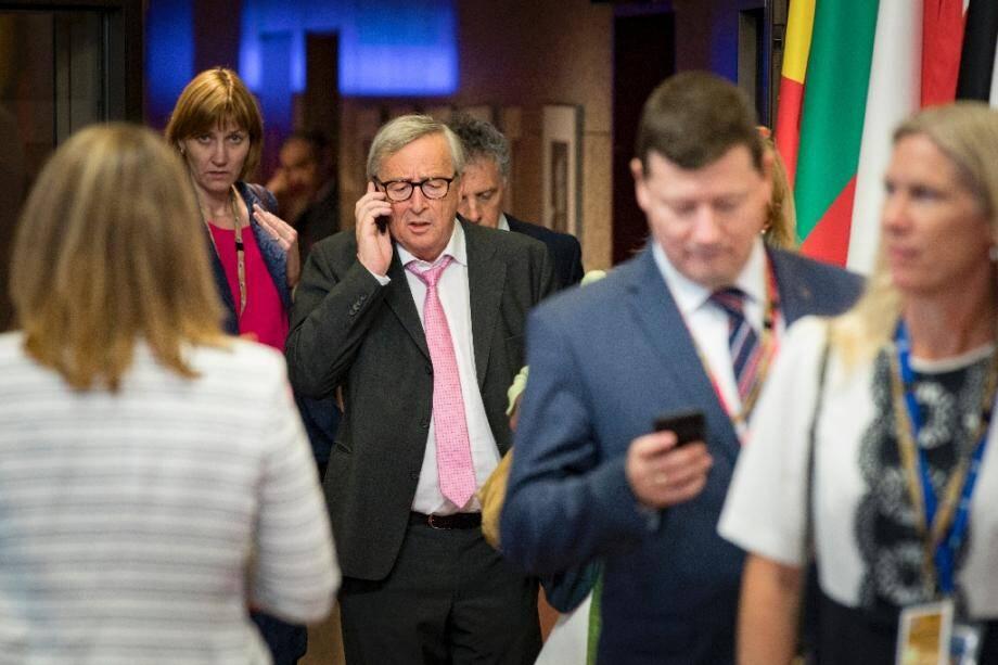 Le président de la Commission européenne Jean-Claude Juncker, le 1er juillet 2018 à Bruxelles