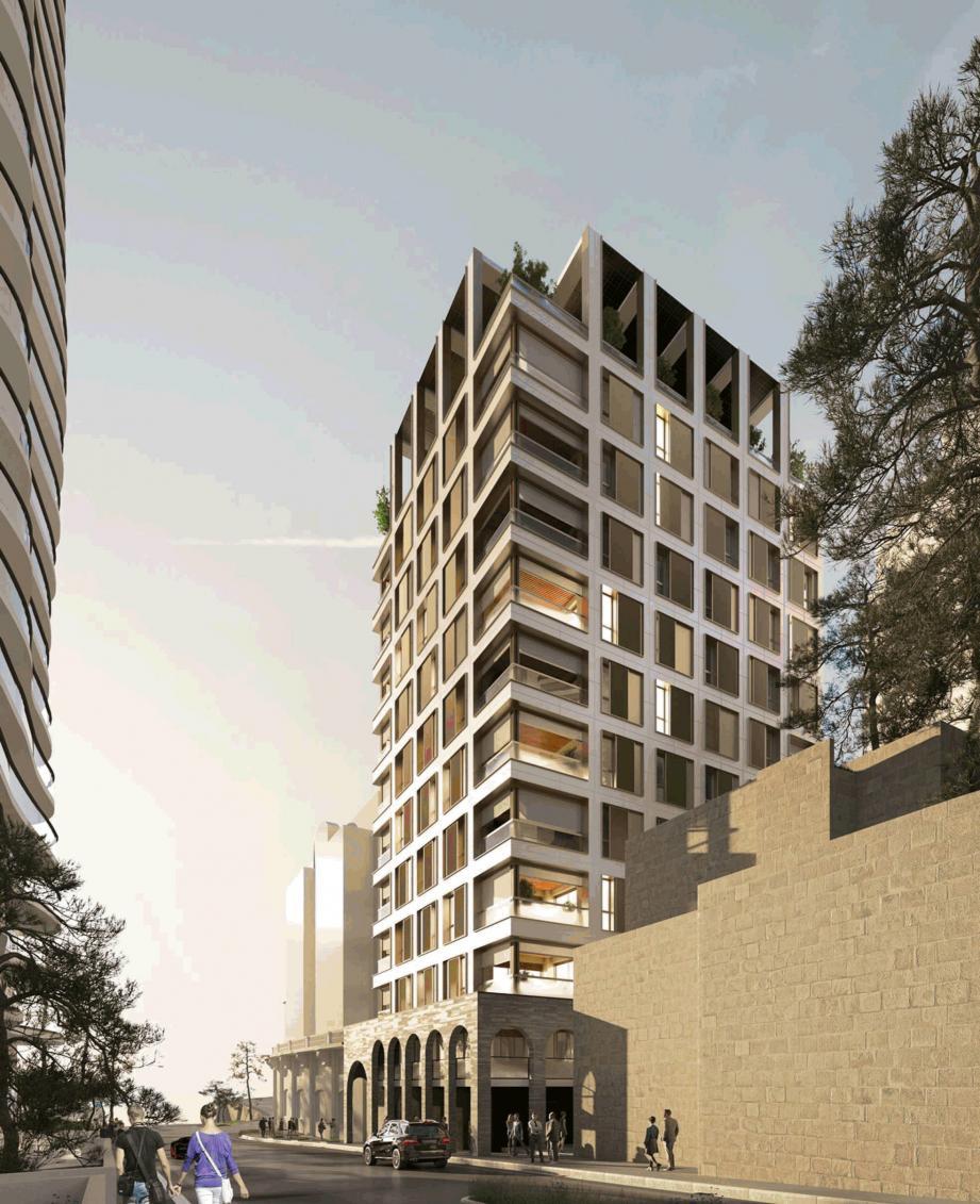 Cet immeuble tout en bois se veut l'un des plus vertueux de Monaco.