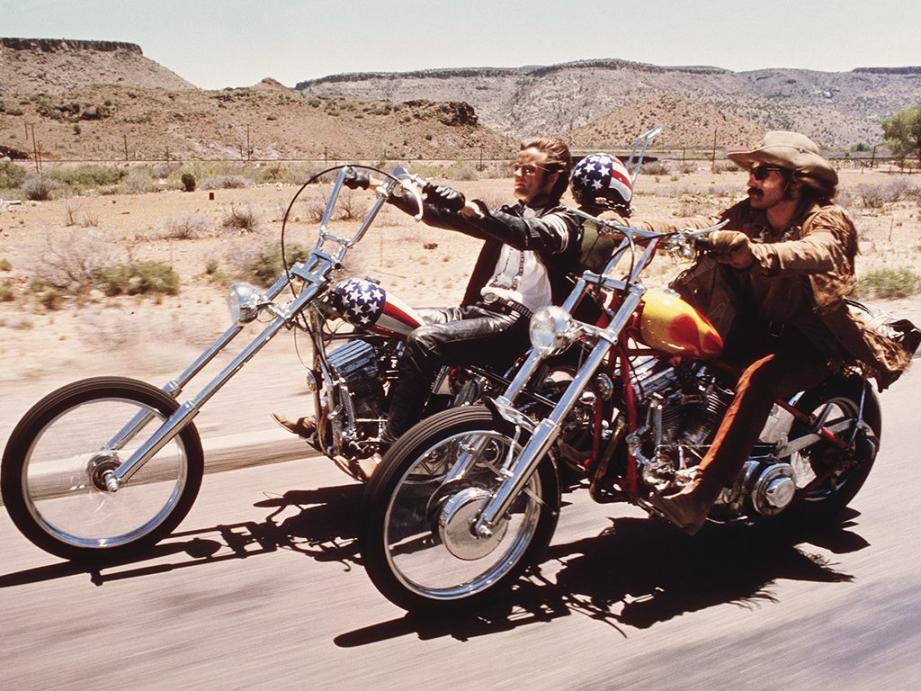 Easy Rider, un film qui a marqué une génération.