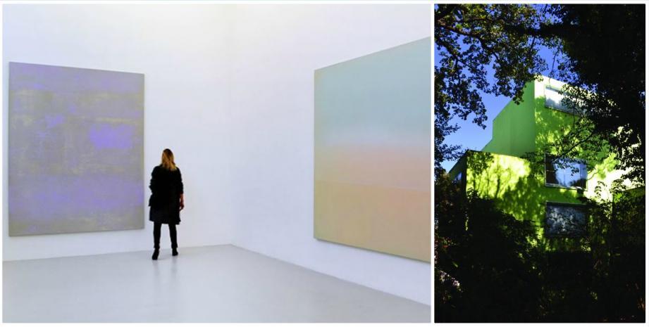 Parmi les œuvres de la donation Albers-Honegger sont exposées celles de Gérard Traquandi.
