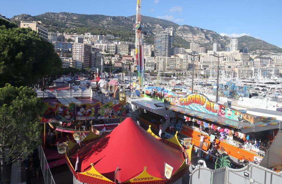 Le port Hercule accueille la Fête foraine dès ce vendredi et jusqu'au 19 novembre