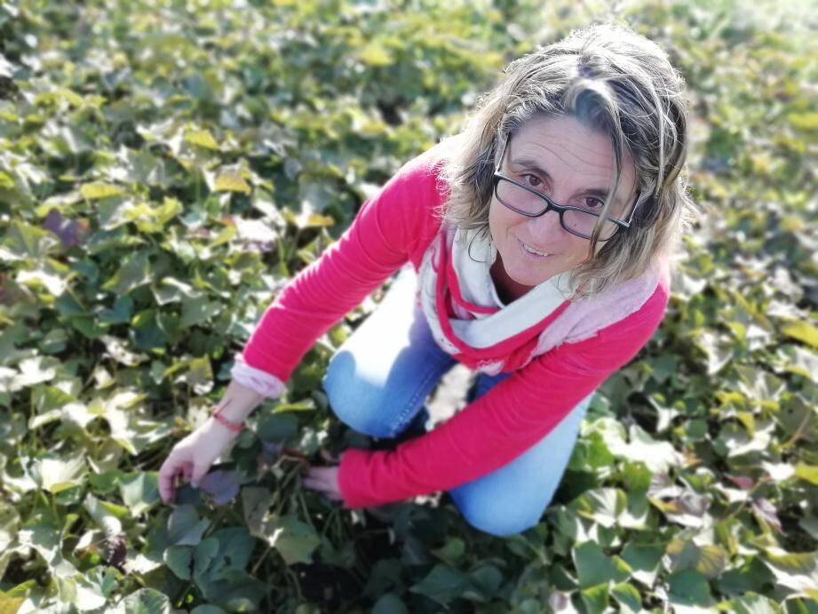 Sylvie Soave enseigne l'agronomie au campus Vert d'Azur.