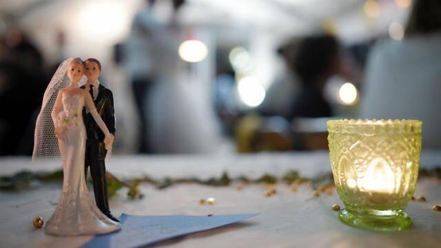 Tous nos vœux de bonheur aux jeunes mariés!