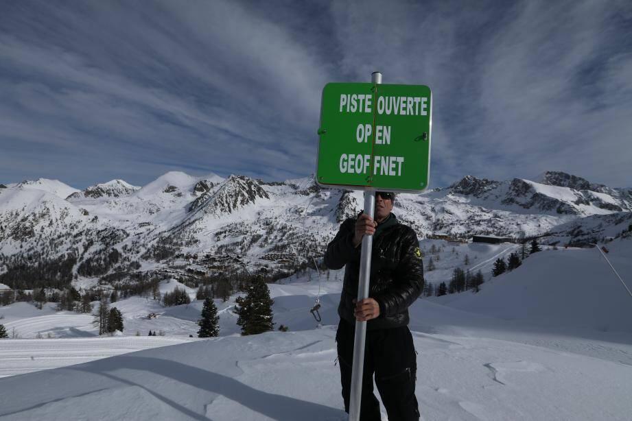 Ça y est, c'est le grand jour d'ouverture pour de nombreuses stations de sports d'hiver dans les Alpes-Maritimes.