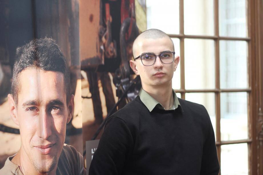 Romain, 19 ans.