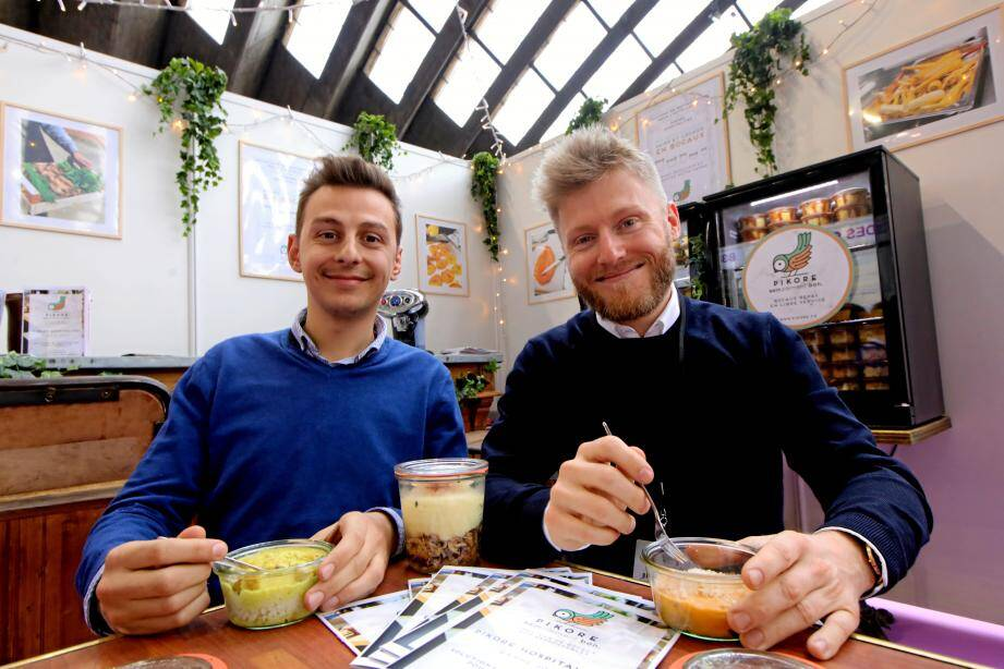 Romain et Bruno, fondateurs de Pikore.