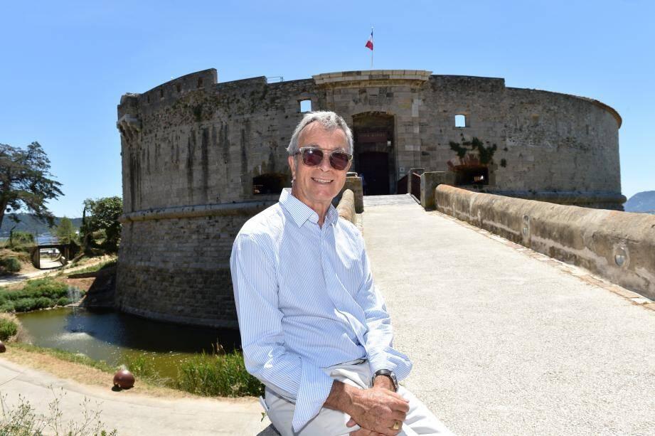 Didier Patoux vient d'être élu à la présidence du Festival de musique.