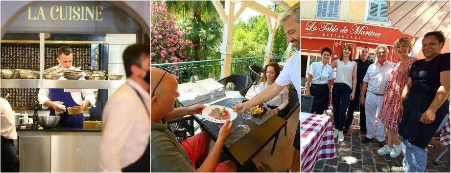 En Dracénie, les restaurants se relèvent tout doucement de la période de fermeture causée par l'épidémie de Covid-19.