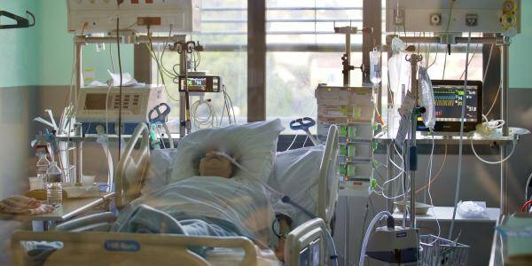 À l'hôpital Bonnet de Fréjus. Illustration.