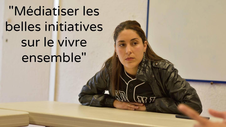Bérangère, responsable ados au centre social La Ruche, rue Trachel à Nice.