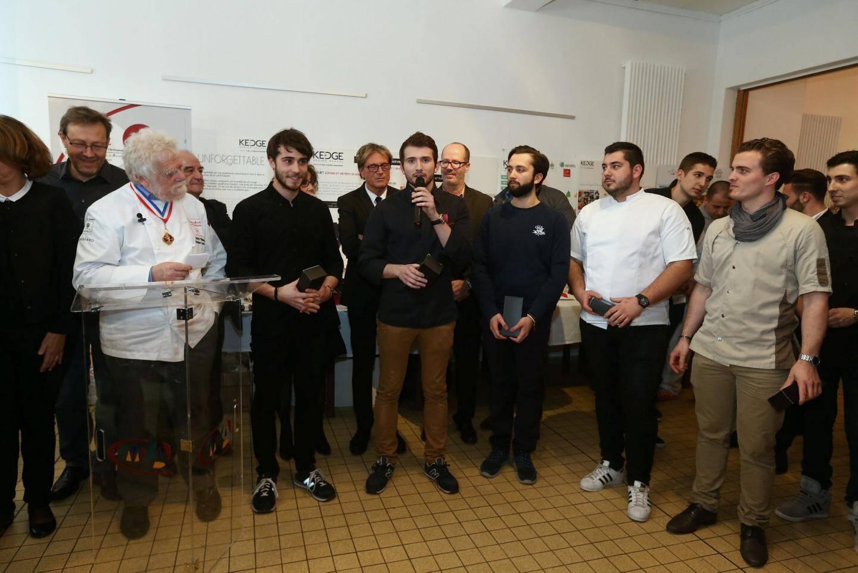Six équipes de jeunes designers et d'apprentis chocolatiers ont été mises en compétition et le résultat a donc été dévoilé en cette fin de semaine au CFA du Beausset.