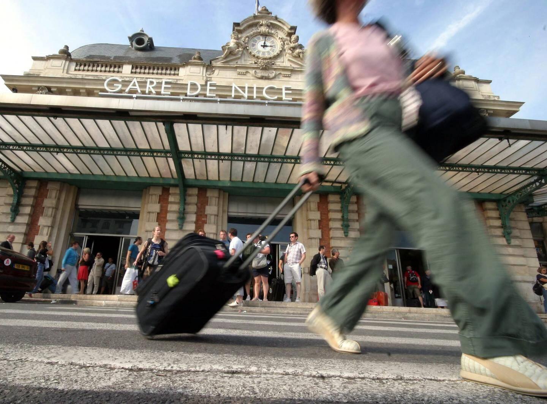 La gare Thiers, à Nice.