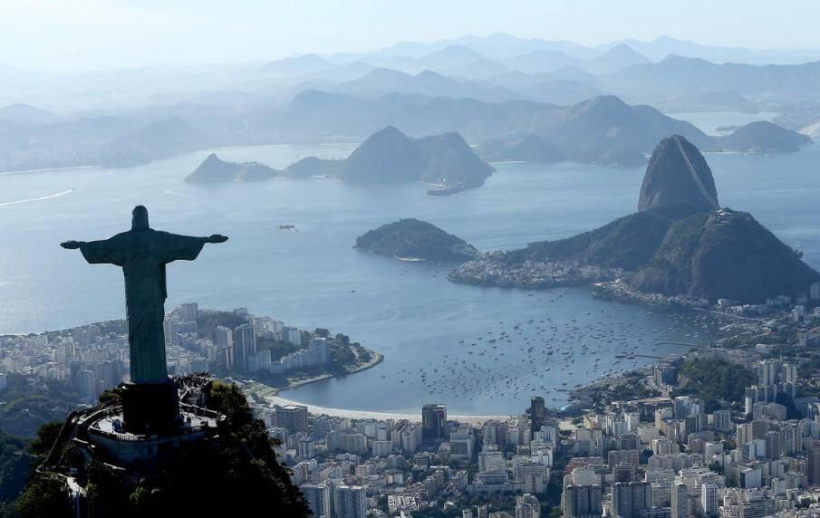 Une vue de Rio de Janeiro.