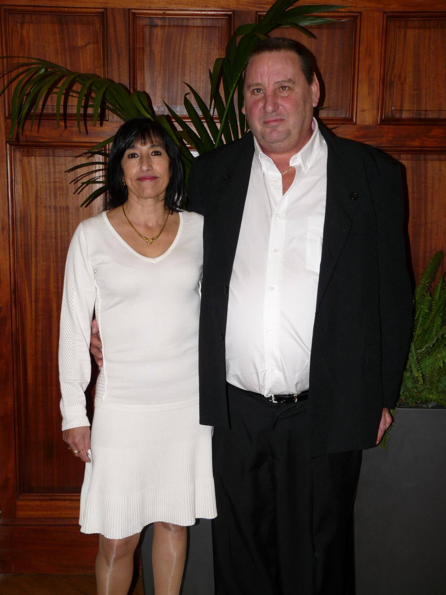 Silvana Favazzo, secrétaire, et Hugues Deverchin, chef de quai.