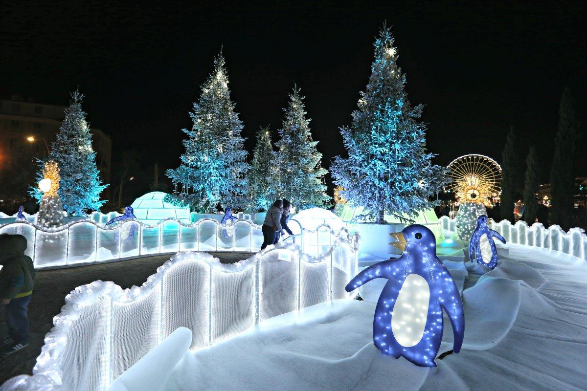 Nice a allumé les illuminations de Noël