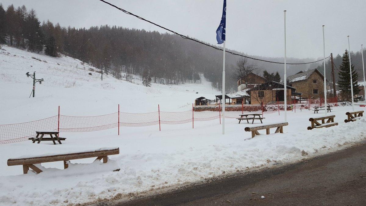 La neige à Roubion