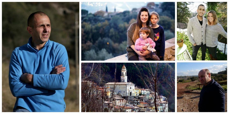Richard à Lucéram, Lisa à Gattières, Nathan et Karine à Levens, Xavier au Luc: ils ont tous quitté la ville pour l'arrière-pays.