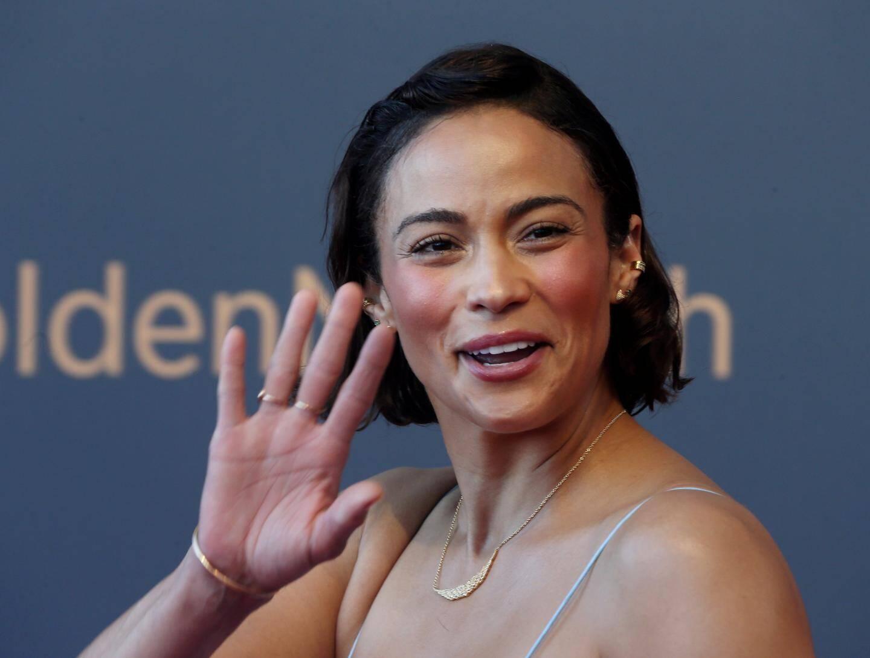 L'ex Miss France Linda Hardy a joué les maîtresses de cérémonie sans accroc.