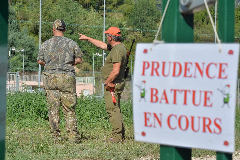 Une battue administrative de sangliers avec les chasseurs mentonnais.