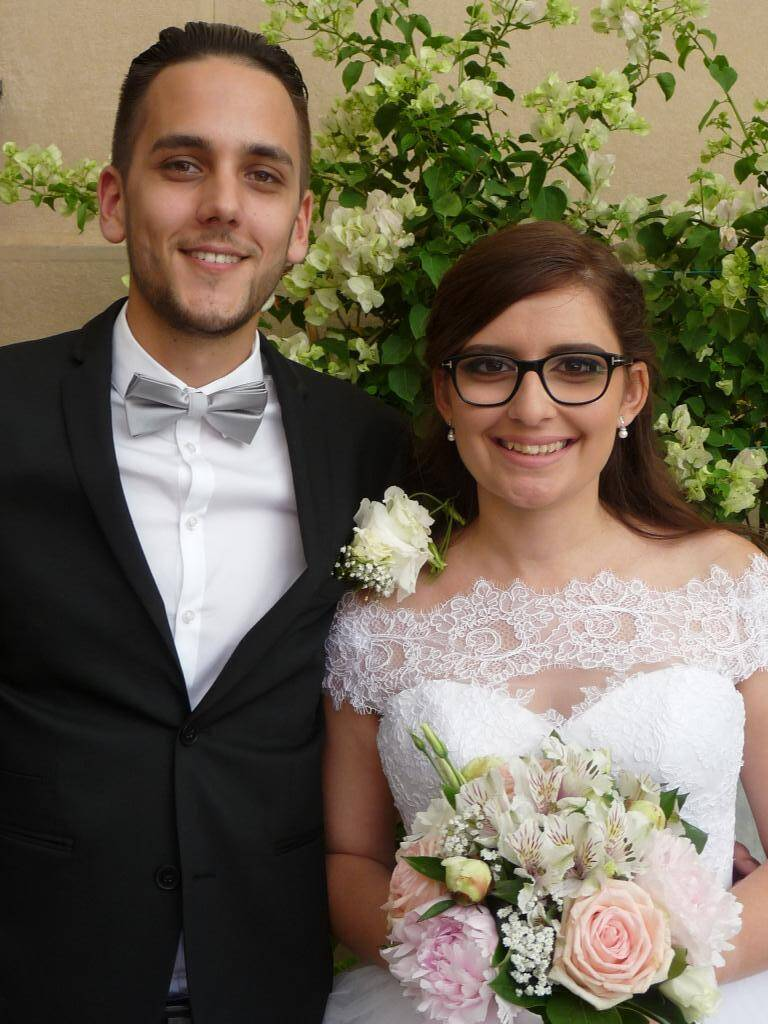 Stefano Kirof, serveur, et Aida Boghossian, vendeuse.