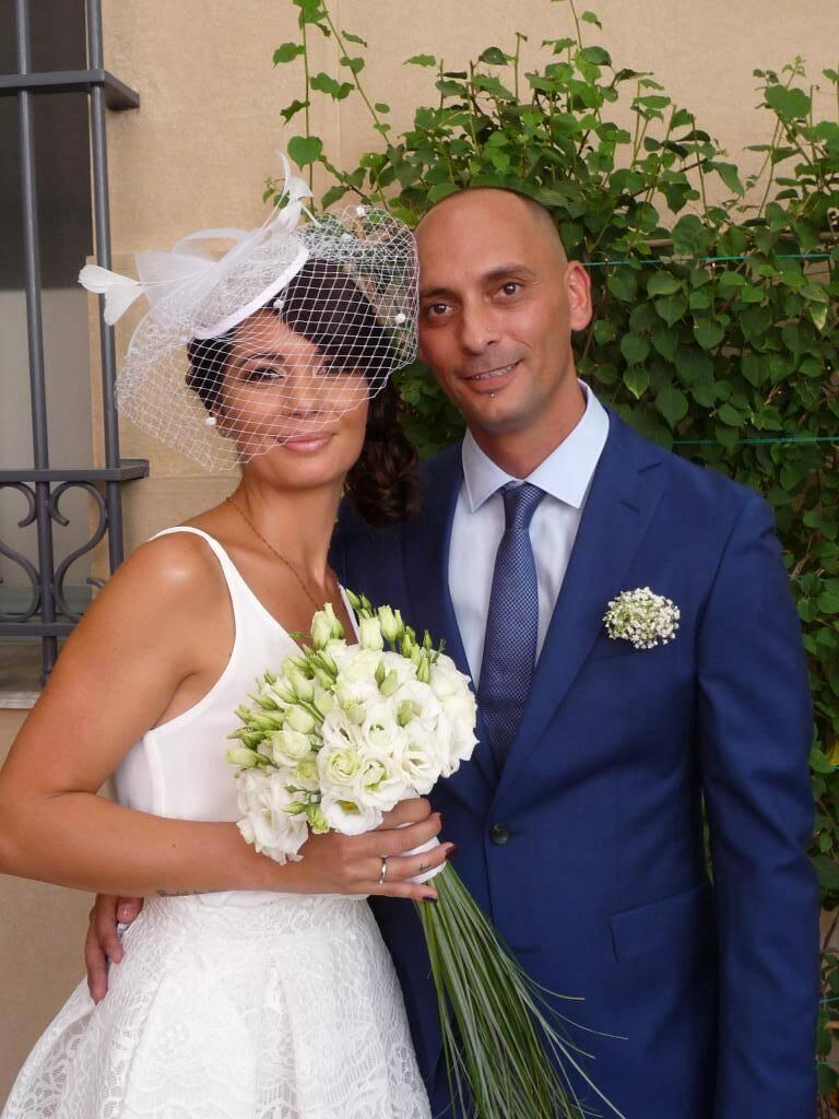 Marjorie Frassinetti, commerciale, et Raphaël Montefalcone, employé de mairie.
