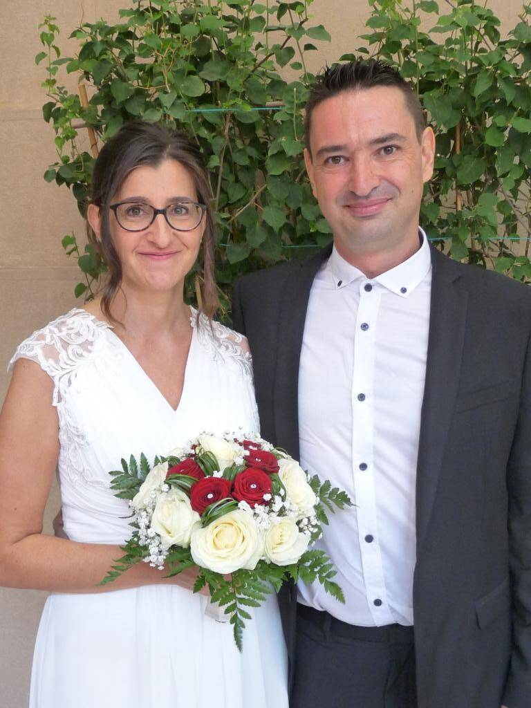 Isabelle et Geoffroy.