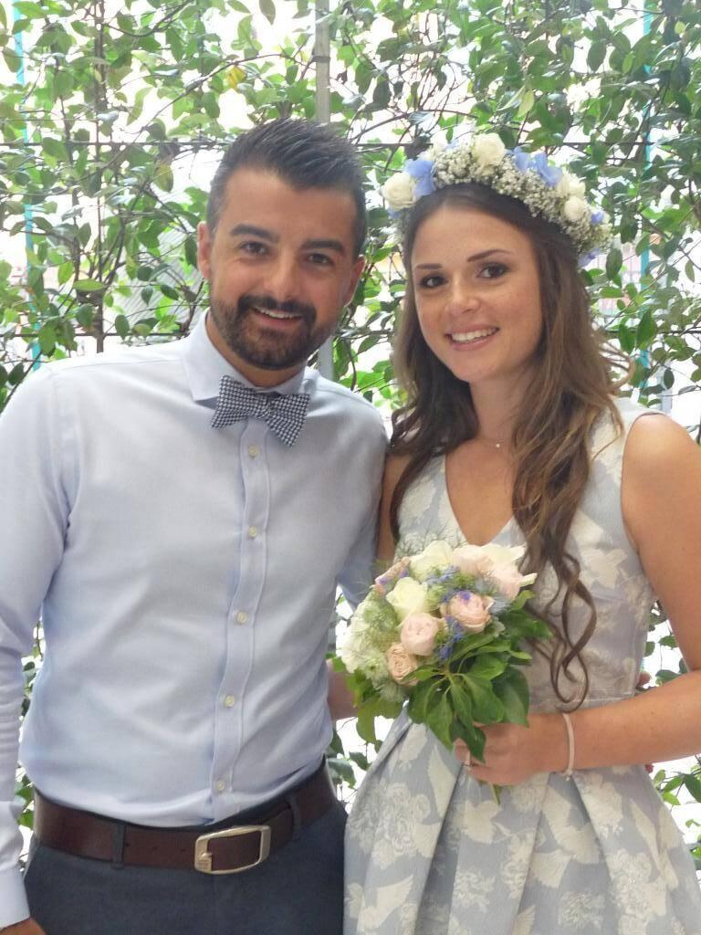 Antony Olivero, ingénieur, et Priscillia Buchlin, infirmière.
