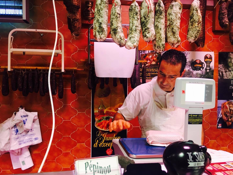 Xavier Garcia, boucher à Puget-Théniers