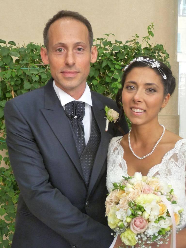 Giovanni Arecco, kinésithérapeute, et Cinzia Biddau, infirmière.