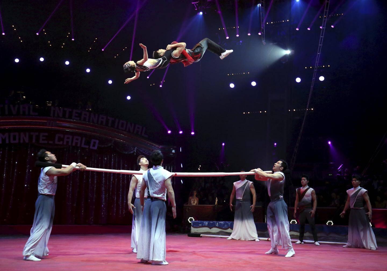 Le second clown d'or récompense la troupe acrobatique de Shangai.