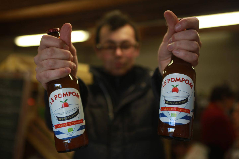 A la Farlède, tous les produits viennent de la région. Dont cette bière à l'arbouse, brassée à Toulon.