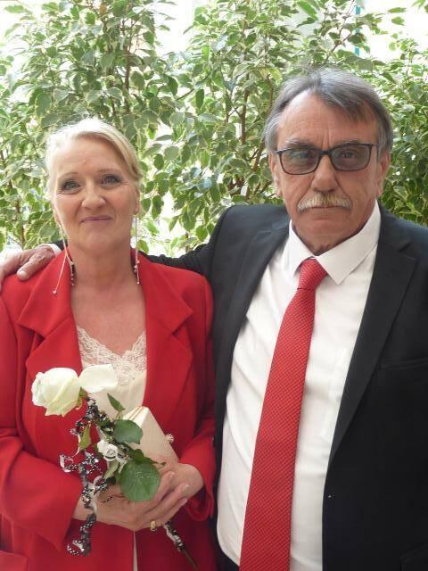 Sylviane Pingon, employée à la métropole, et Gérard Asso, retraité.