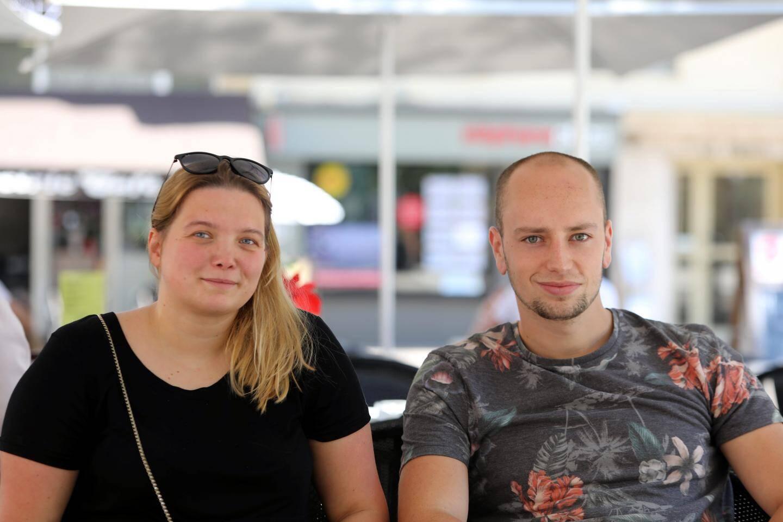 Alexander Britaev, manager de projets et Irina Barchan, la directrice de la société Aventure - Live Escape Game ont concocté cette soirée d'évasion outdoor.